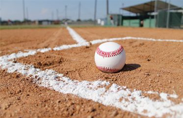 Crystalline Marble Chalk Baseball Pioneer Athletics