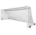 FUSION® High School Match Soccer Goal with Wheels
