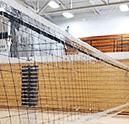Clear Volleyball Net Barrier