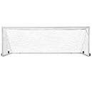 Deluxe European Club Soccer Goal with Wheels