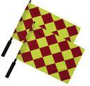 Official Diamond Linesman Flag Set