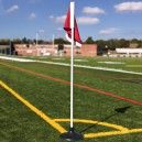 JayPro Corner Flags with Rubber Base