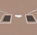 Rubber Batter's Box Mat