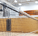 Clear Volleyball Net Barrier