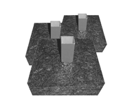 """Complete 1.75"""" Base Anchors"""