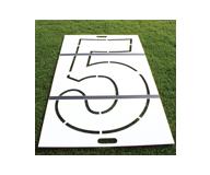 EZ Fold Number Stencil Kit