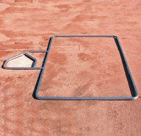Batter\'s Box Template | Baseball | Pioneer Athletics