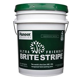 brite stripe ultra friendly natural turf paint pioneer athletics. Black Bedroom Furniture Sets. Home Design Ideas