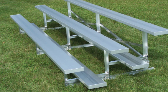 3 Row Standard Bleachers