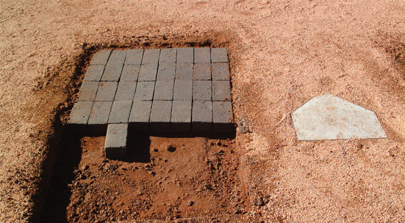 Baseball Infield Dirts, Clay, and Bricks
