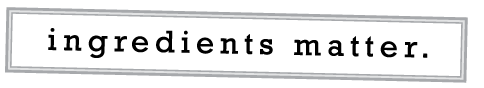 Ingredients Matter Logo