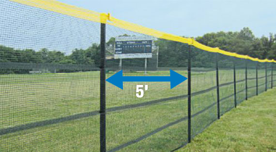 In-Ground Grand Slam Fencing