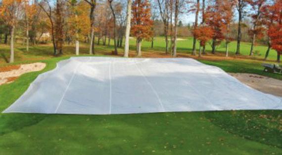 Turf Gro Blanket on Golf Course
