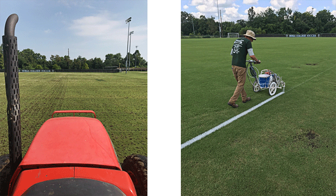 Photo of Improving Berea College's Field