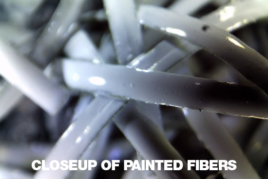 Photo of the Painted Fibers