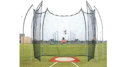Premier Cantilevered Discus Cage