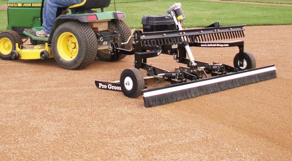 Baseball Infield Grooming Equipment