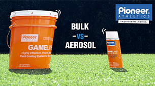 Bulk or Aerosol for Your Synthetic Turf?