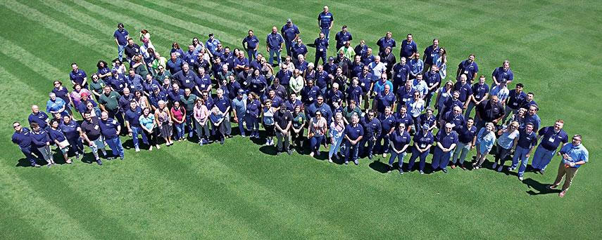Pioneer Athletics Group Photo