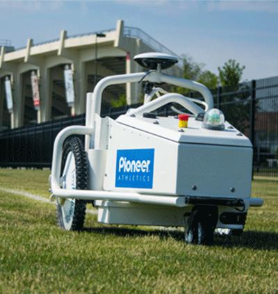 GPS Line Marking Robot