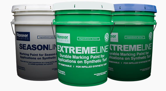 Durable Paint for Infilled Synthetic Turf