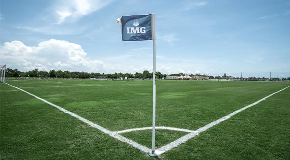 IMG Academy Custom Corner Flags