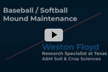 Baseball/Softball Mound Maintenance: Groundskeeper Chat with Weston Floyd