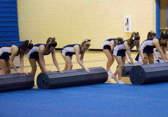 EZ Flex Cheerleading Mat Roll-up