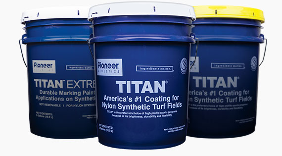 Paints for Nylon Synthetic Turf