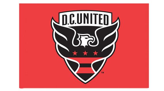 DC United Custom Corner Flags