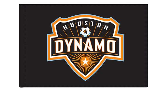 Houston Dynamo Custom Corner Flags